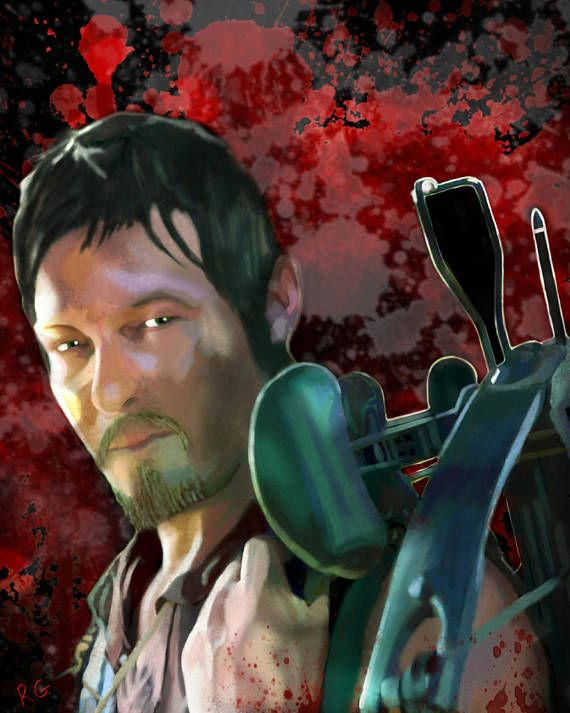 Check out this item in my Etsy shop https://www.etsy.com/ca/listing/539355876/daryl-dixon-norman-reedus-the-walking