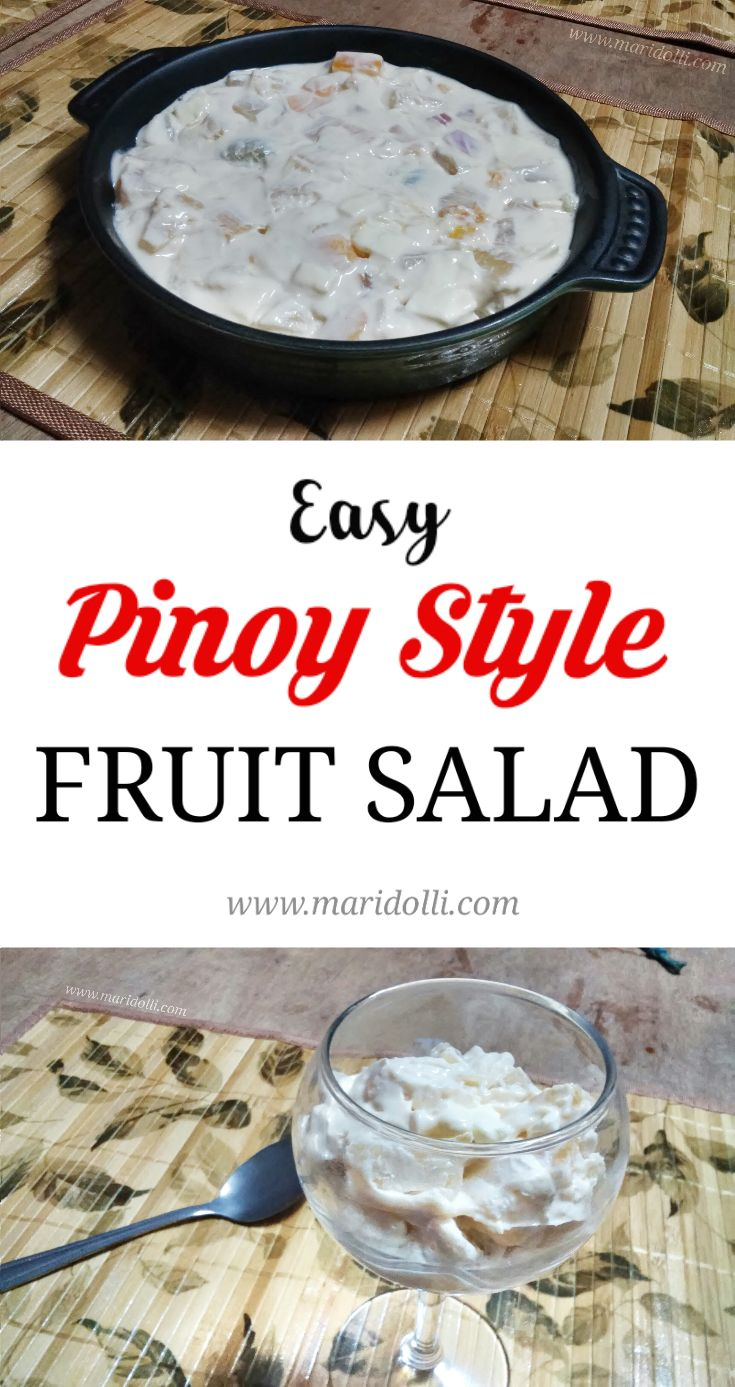 How to Make Easy Pinoy Style Fruit Salad (No Cooking Skills Required)