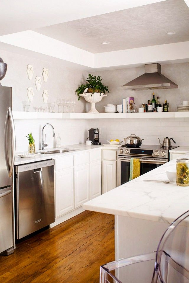 296 best floating shelves images on pinterest kitchen on floating shelves kitchen id=86927