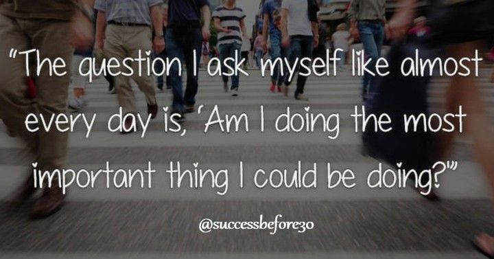 Tanyakanlah Kepada Diri Anda Setiap Hari Apakah Saya Melakukan Hal Terpenting Yang Bisa Saya Lakukan Apa Instagram Instagram Posts This Or That Questions
