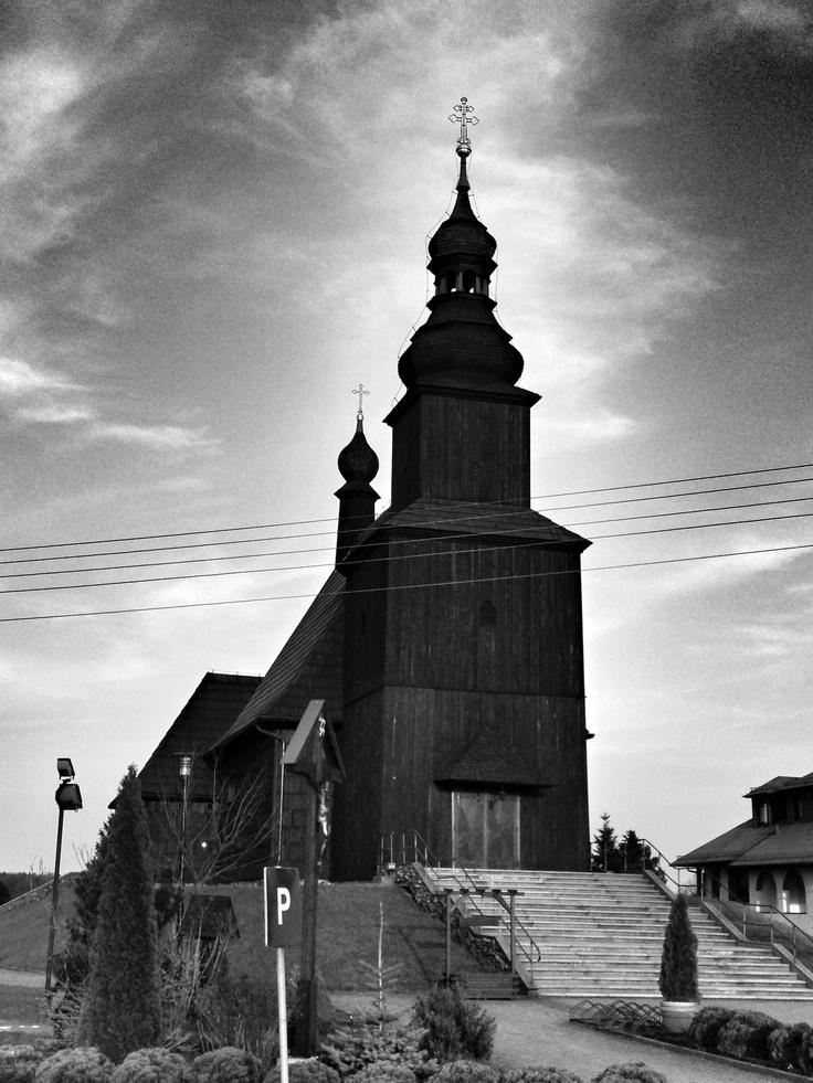 opolszczyzna modrzewiowy kościół
