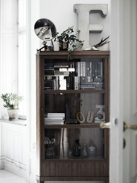 "Check out the ""F"".   :): Decor, Interior Design, Ideas, Inspiration, Interiors, Living Room, Cabinet, Apartment"