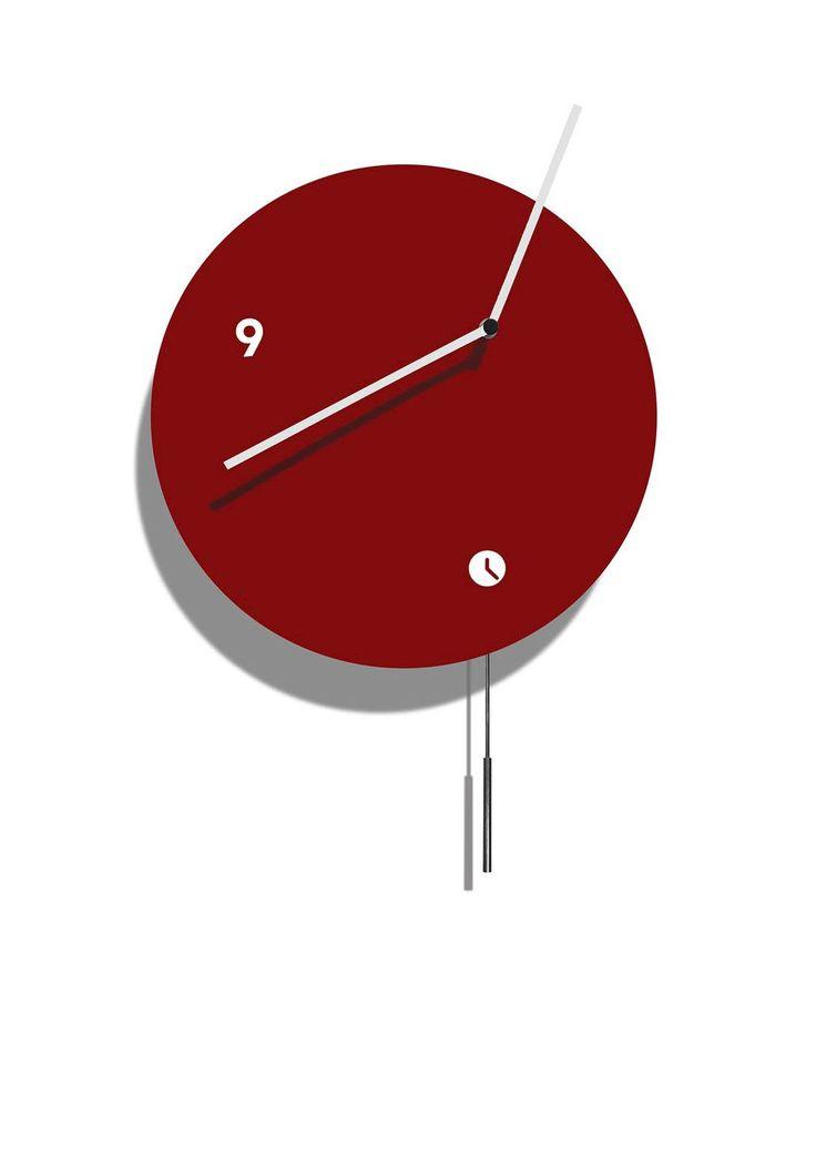 Best 25 contemporary clocks ideas on pinterest designer wall clocks wall clock latest and - Contemporary pendulum wall clock ...