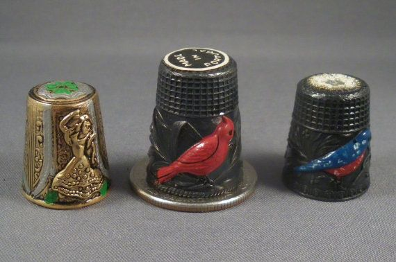 231 Best Thimble Collection Images On Pinterest Sew