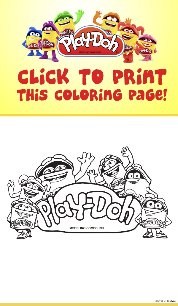 17 Best Images About Party Playdough On Pinterest Play Doh Coloring Pages