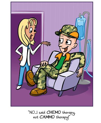 new card for men going through chemotherapy. Not cancer specific