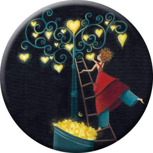 Marie cardouat miroir de poche 88mm l 39 arbre aux coeurs for Desire miroir miroir
