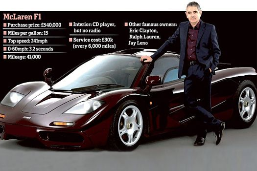 #McLaren #F1 of #RowanAtkinson is for sale #MrBean has decided to sell his McLaren F1 and you can have it for £8m