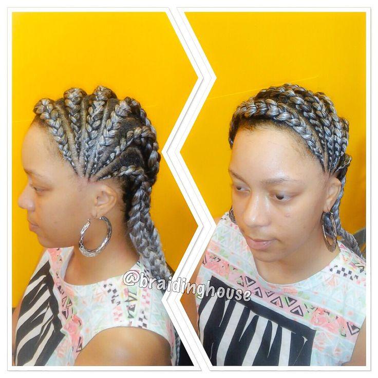 Cornrows By Braidinghouse Braids African Hair Braiding