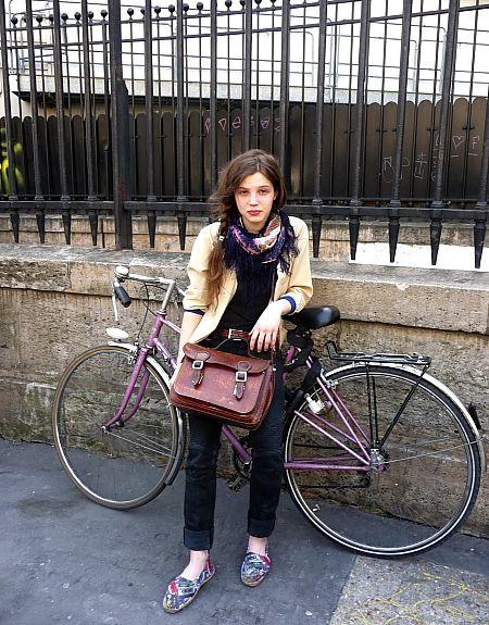 a teenager in paris