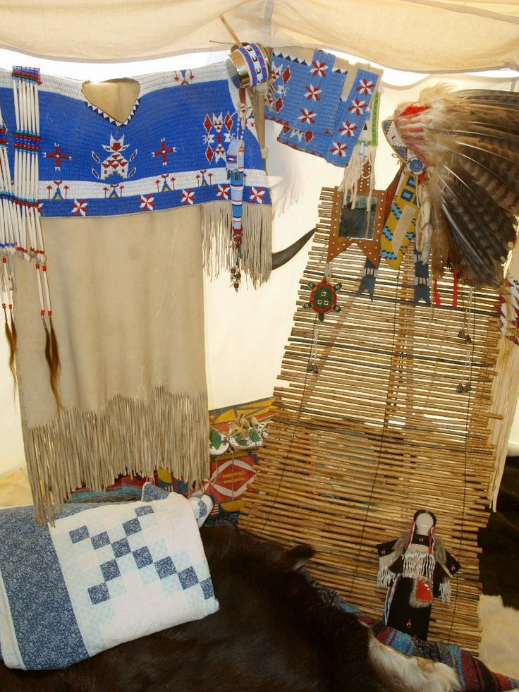 Sioux style tipi interieur ca 1890 1910 c for Interieur 83