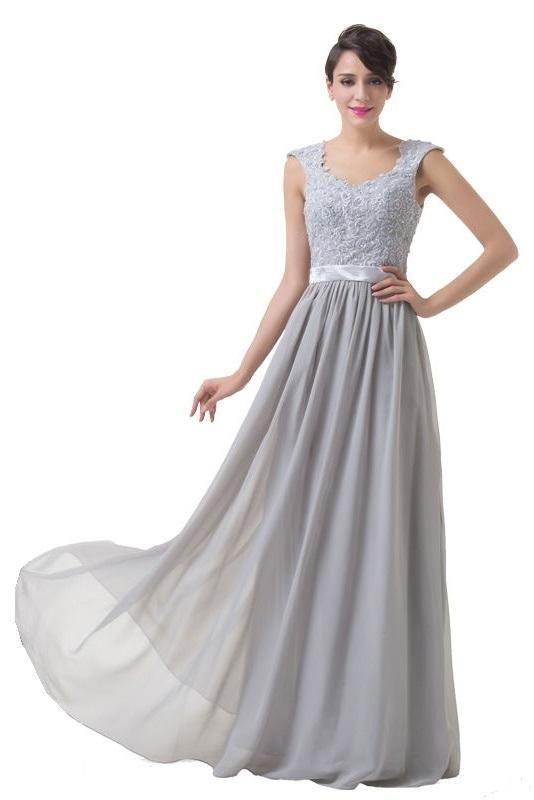 Silver lace bridesmaid dresses uk google search silver for Silver wedding dresses for bridesmaids