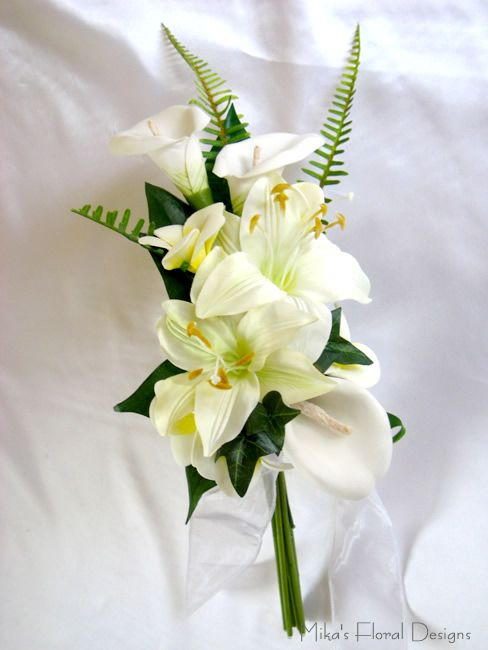 calla lily wedding bouquet | Calla Lily And Tiger Lily Bouquet #1