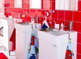 De familie badkamer met slimme oplossingen