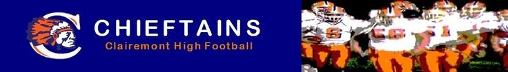Clairemont High School football schedule