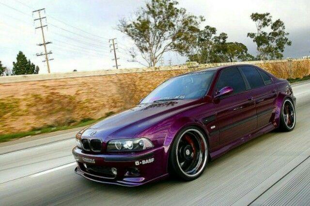 BMW E39 M5 purple | BMW - Ultimate Driving Machine ...