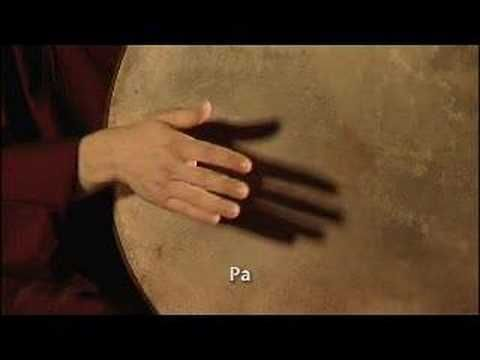 frame drum Instruction - lapstyle - YouTube
