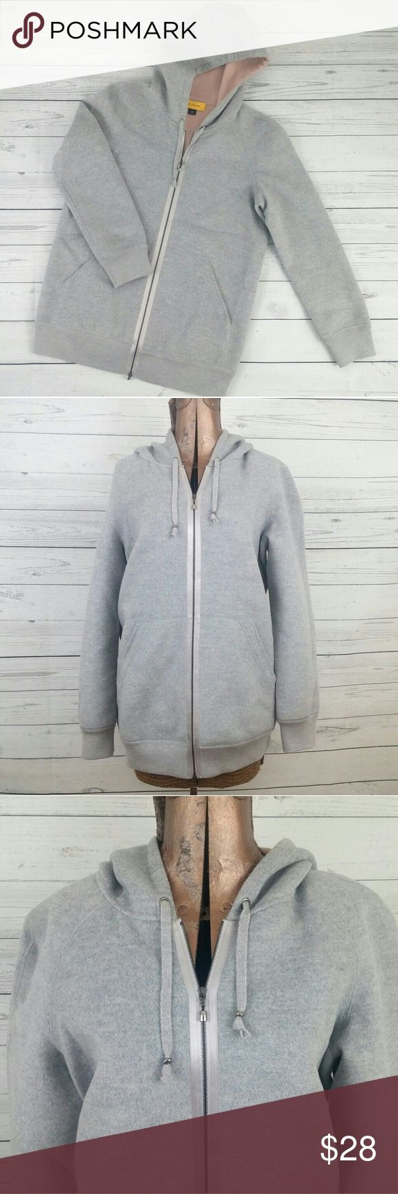 """St. John Sport Designer Wool Blend Zip Hoodie Heavy weight, two front pockets. Soft interior lining. Soft almost faux fur material outside. Double zipper for multi-way wear. Longer fit- I'm 5'2"""" and this comes down over my hips and butt so it could be worn with leggings. Zoom in for details. Pic 6 is of the back of the hood. St. John Tops Sweatshirts & Hoodies"""