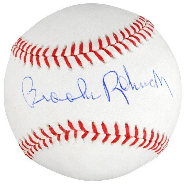 Brooks Robinson Baltimore Orioles Fanatics Authentic Autographed Mlb Baseball Baltimoreorioles Baseballhalloffame Baltimore Orioles Mlb Baseball