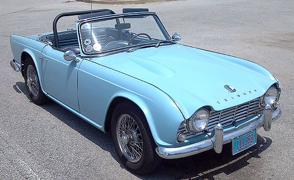 Tr4 Triumph Club Vintage Triumph Register 4 Wheels Pinterest