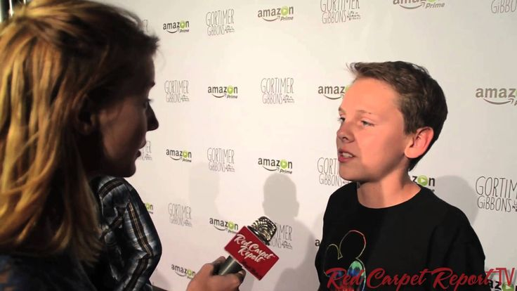 "Jacob Bertrand at the Premiere of Amazon's ""Gortimer Gibbon's Life on Normal Street"" #GortimerAmazon"