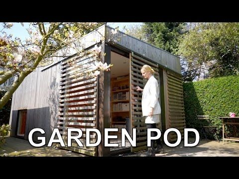 AMAZING Minimalist Tiny House in Holland (280 sq.ft. garden studio)