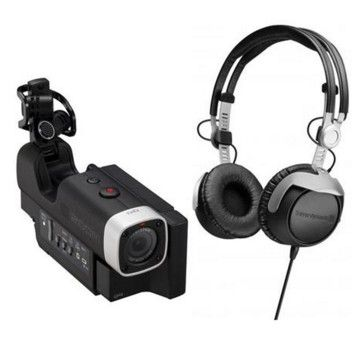 Zoom Q4 Handy Video Recorder W/Beyerdynamic DT 1350 Closed Supra-Aural Headphone. The Zoom Q4 Handy Video Recorder combines Full HD 1080p video with Zoom's high-quality audio capture technology. http://www.specssite.com/best-compact-digital-camcorder/