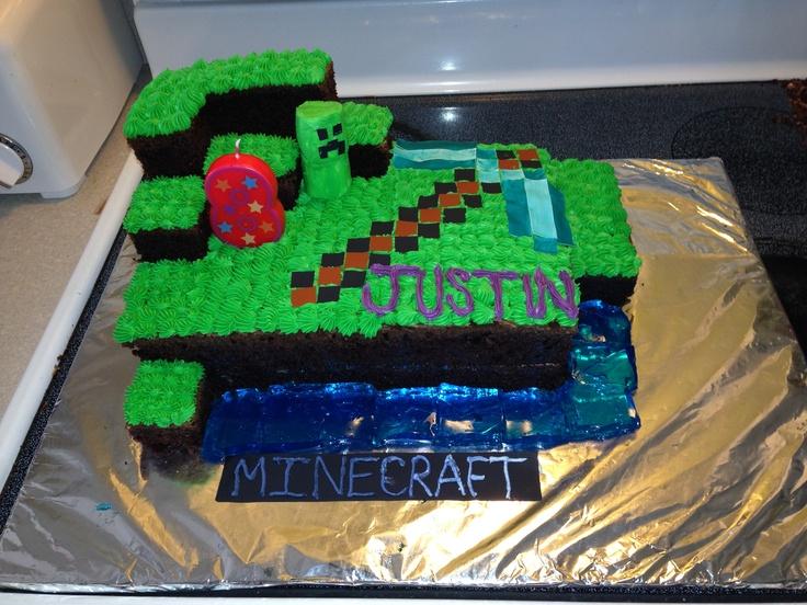 Design Of Minecraft Cake : Minecraft Cake Decorations Joy Studio Design Gallery ...
