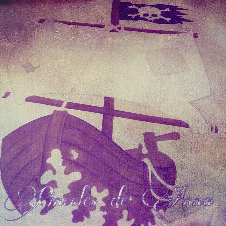 Barco pirata    www.pincelesdeanna.com