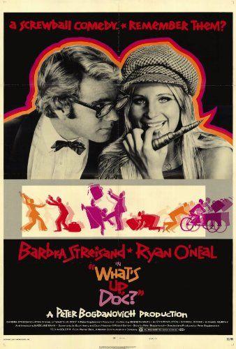 Amazon.com - What's Up Doc? Movie Poster (27 x 40 Inches - 69cm x 102cm) (1972) Style B -(Barbra Streisand)(Ryan O'Neal)(Kenneth Mars)(Austi...
