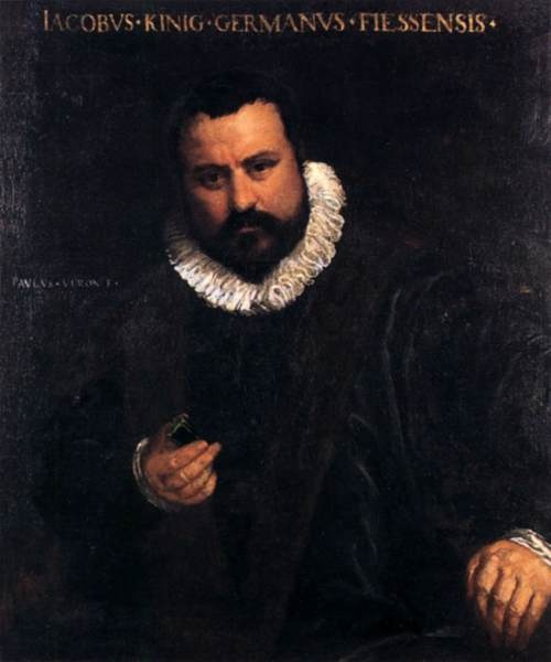 Portrait of Johann Jakob König; Artist: Paolo Veronese, Italian, 1528-1588; Date: 1575-80; Currently in the collection of the National Museum, Prague