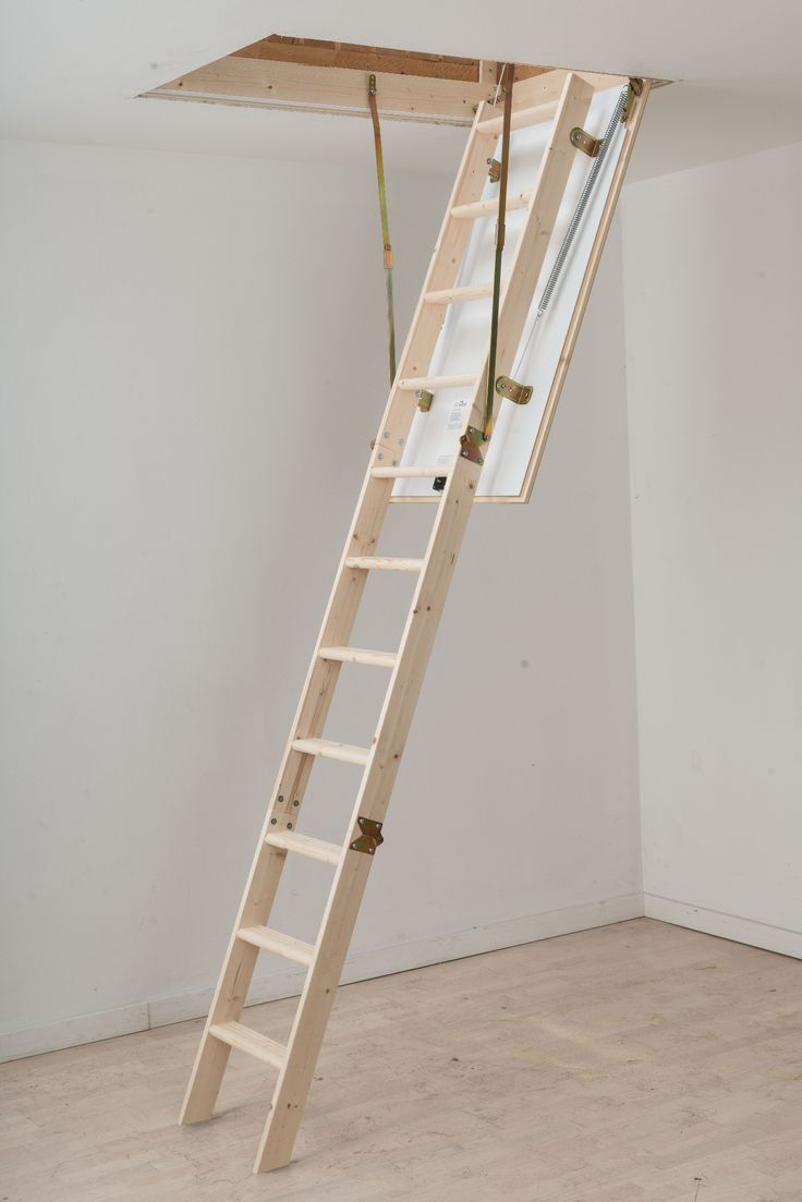 dolle hobby timber folding loft ladder to suit an opening size of x 570mm