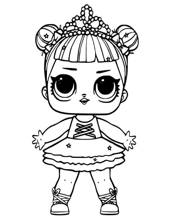 Printable LOL Doll Coloring Pages | Unicorn coloring pages ...