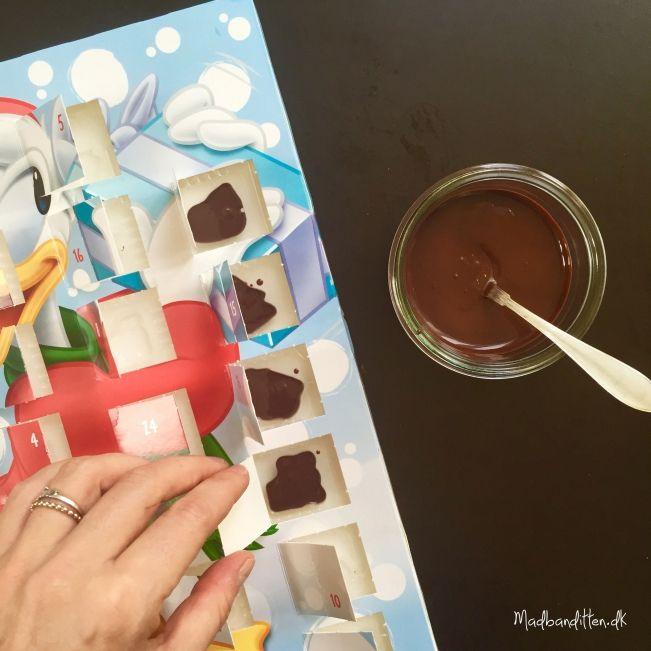 Sundere chokoladekalender DIY