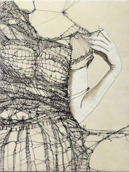art design illustration unraveling
