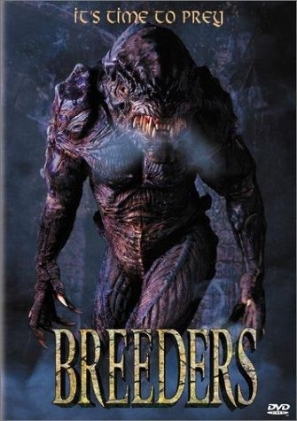 Breeders (1997) R  -  An alien travels to Earth on a meteorite and mates with humans to preserve its species and destroy humanity.  -    Director: Paul Matthews  -   Writer: Paul Matthews  -   Stars: Todd Jensen, Samantha Womack, Oliver Tobias  -    HORROR / SCI-FI