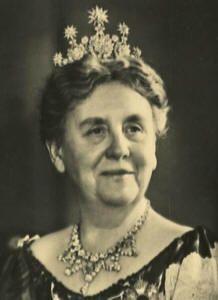 Queen Emma of the Netherlands in the Hessen Star tiara
