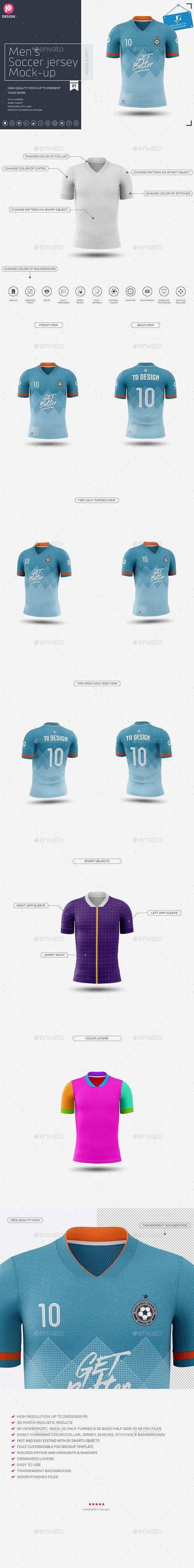 Download Men S Soccer Jersey Mockup V1 Soccer Jersey Mockup Jersey