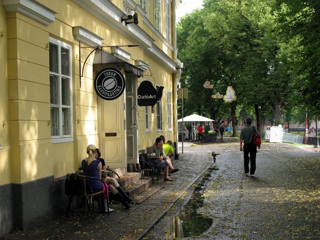Cafe Art, Turku, lovely place, I've visited a few times