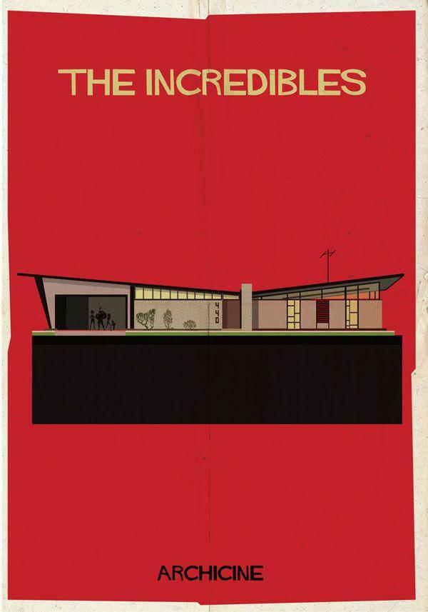 ステキすぎる世界観。建築家兼イラストレーターが見た銀幕の世界 – Archicine