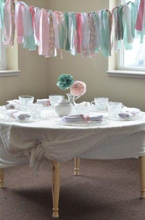 tea party garland
