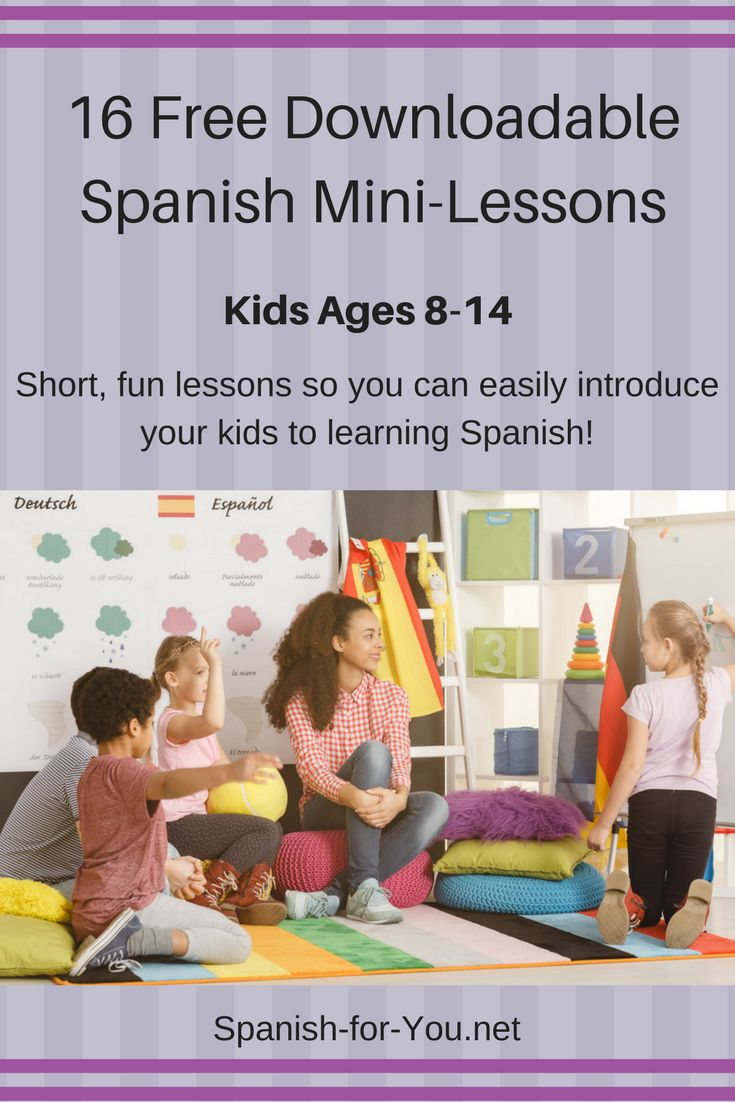 Spanish for Kids - 123TeachMe.com