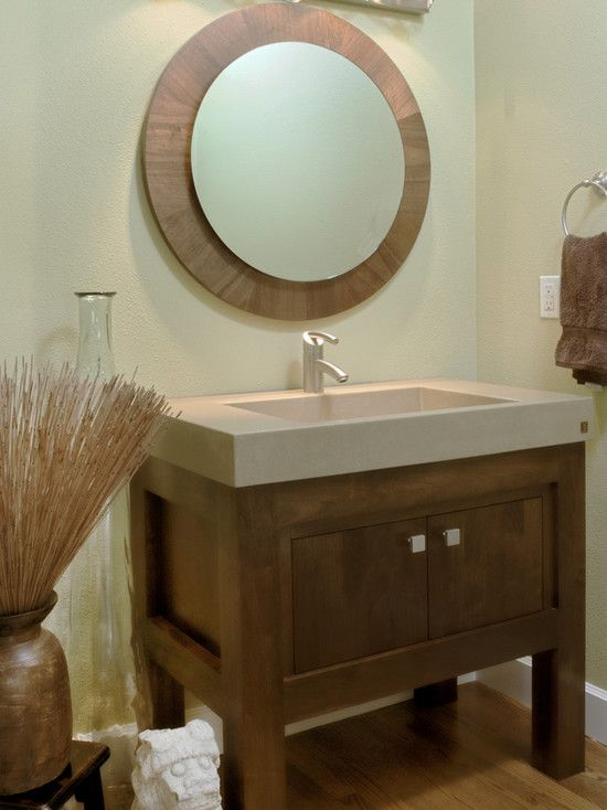 24 best tiny bathrooms images on pinterest bathroom for Small bathroom vanity ideas