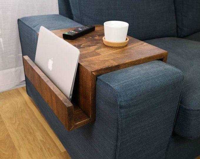 Bestloft Beistelltisch Laptoptisch Sofatisch Betttisch Couchtisch Holz Sofa Tisch Laptoptisch Beistelltisch