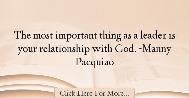 Manny Pacquiao Quotes About Relationship - 57700