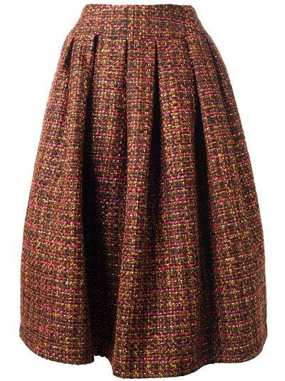 Skirt for Women On Sale, Black, Cotton, 2017, 28 30 Stella Jean