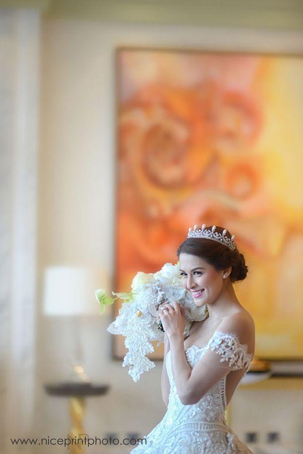 Dingdong Dantes and Marian Rivera Celebrity Wedding Photos | http://brideandbreakfast.ph/2015/01/02/dingdong-dantes-and-marian-rivera-celebrity-wedding-photos/