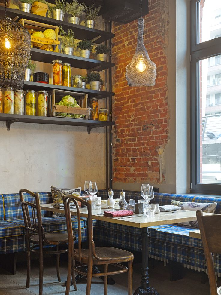 Das NENI-Restaurant im 25hours Hotel Hamburg - Altes Hafenamt