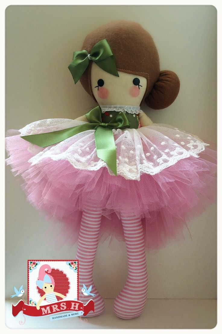 """19"""" doll with removable deluxe tutu Suitable from birth Hand wash only"""