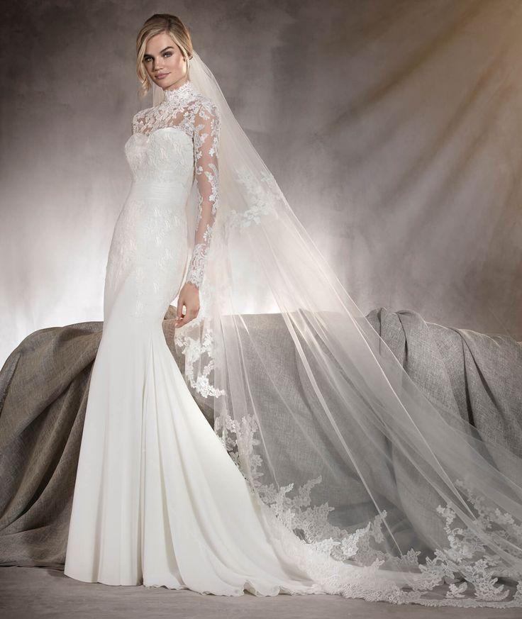 Ariella - Brautkleid mit herzförmigem Dekolleté und Spitze